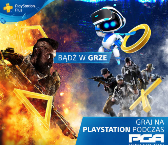PlayStation na Poznań Game Arena 2018